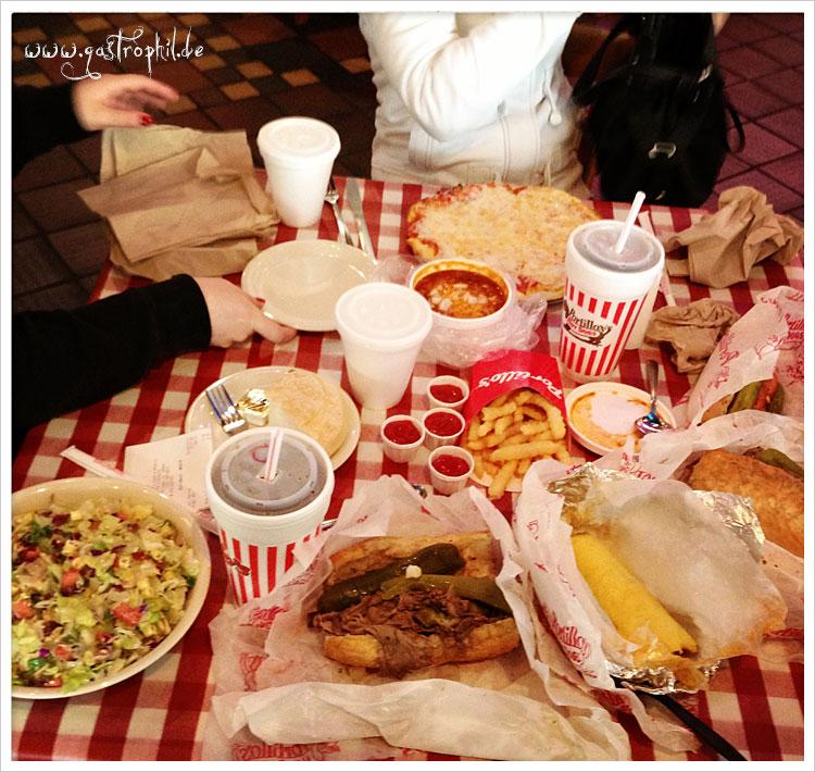 Gedeckter Tisch bei Portillos
