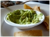 Guacamole und Tacos als Vorspeise