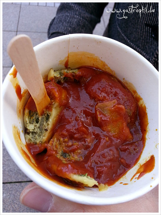 Curry-Maultaschen