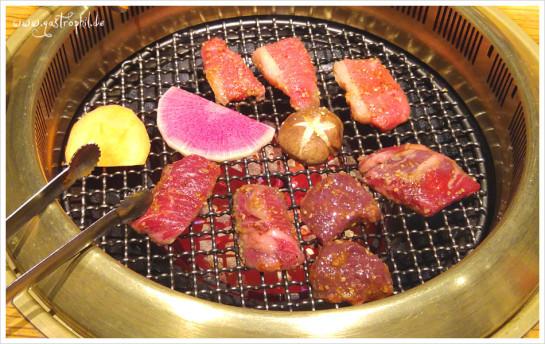 Es wird los gegrillt! Zweierlei vom Rind sowie Leber auf dem heißen Grill